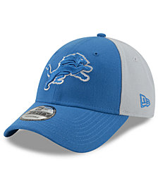 New Era Detroit Lions Team Blocked 9FORTY Cap