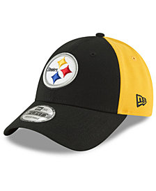 New Era Pittsburgh Steelers Team Blocked 9FORTY Cap
