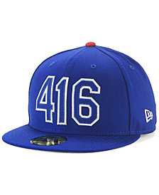 New Era Toronto Blue Jays Area Code 59FIFTY FITTED Cap
