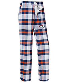Concepts Sport Women's Denver Broncos Headway Flannel Pajama Pants