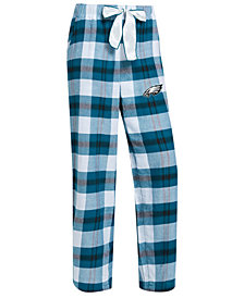 Concepts Sport Women's Philadelphia Eagles Headway Flannel Pajama Pants