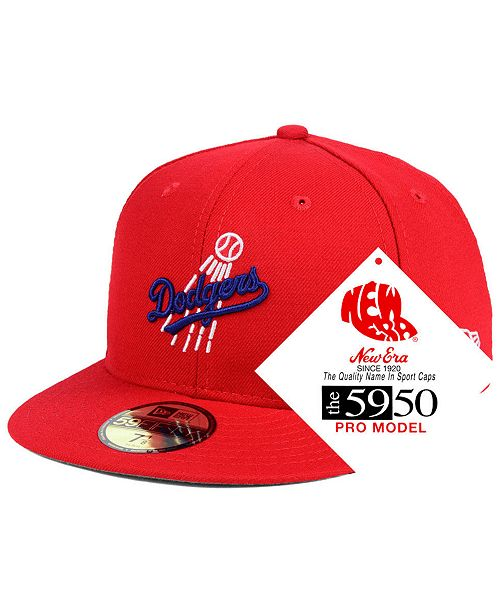 New Era Los Angeles Dodgers Retro Stock 59fifty Fitted Cap Sports