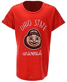 Retro Brand Ohio State Buckeyes Rolled Sleeve T-Shirt, Girls (4-16)