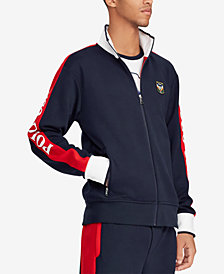 Polo Ralph Lauren Men's Double-Knit Track Jacket