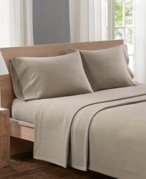 True North by Sleep Philosophy Micro Fleece 4-pc King Sheet Set Bedding