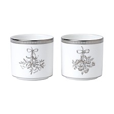 Winter White Set/2 Votive