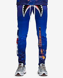 Hudson NYC Men's Shark Mouth Track Pants