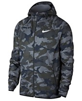 0451706685a7 Nike Men s Woven Camo-Print Training Jacket