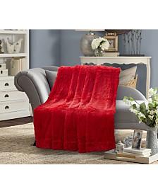 Faux Fur Medium Pile Throw Blanket