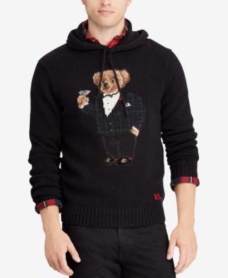 8bbcdaee0adb Polo Ralph Lauren Men u0027s Polo Bear Hoodie  u0026 Reviews - Sweaters .