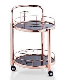 Barton Contemporary Serving Cart