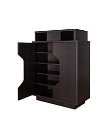 Moline 1-Drawer Shoe Cabinet