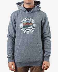 Rip Curl Men's Destination Logo-Print Fleece Hoodie