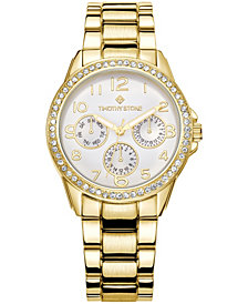 Women's 'Katy' Crystal Embellished Quartz Classic Bracelet Watch