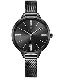 Womens Oxford Stainless Steel Slim Mesh Bracelet Watch