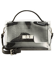 Steve Madden Tina Top Handle With Plastic Crossbody