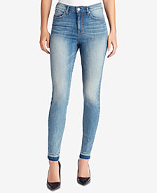WILLIAM RAST High-Rise Released-Hem Jeans