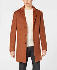 Alfani Men's Classic-Fit Topcoat, Created for Macy's