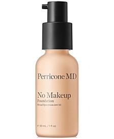 No Makeup Foundation SPF 30, 1 fl. oz.
