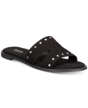 Image of Bar Iii Priscilla Slide-On Sandals, Created for Macy's Women's Shoes