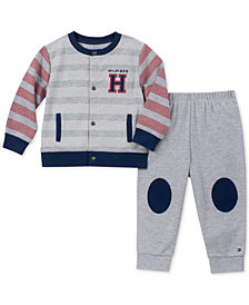 Tommy Hilfiger Baby Boys 2-Pc. Cardigan & Jogger Pants Set