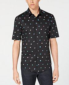 Alfani Men's Floral-Print Shirt, Created for Macy's