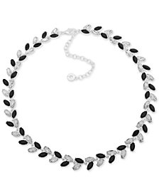 """Anne Klein Multi-Stone Vine-Inspired Statement Necklace, 16"""" + 3"""" extender, Created for Macy's"""