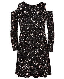 Epic Threads Big Girls Star-Print Dress, Created for Macy's