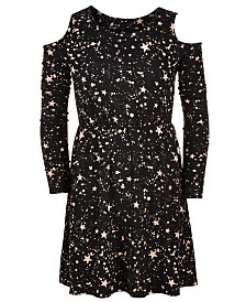 Epic Threads Super Soft Big Girls Star-Print Dress, Created for Macy's