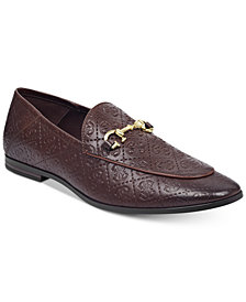 GUESS Men's Edwin Patterned Loafers