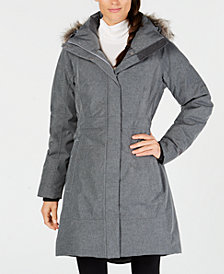 The North Face Arctic Faux-Fur-Trimmed Parka
