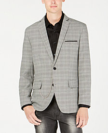 I.N.C. Men's Slim-Fit Glen Plaid Blazer, Created for Macy's