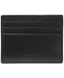 28cb7ad90a Michael Kors Men's Henry Leather Tall Card Case & Reviews - All ...