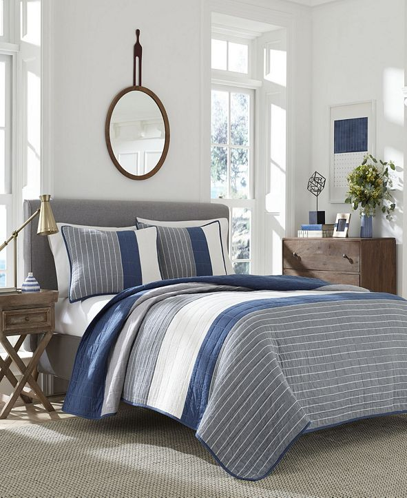 Nautica Swale Twin Quilt