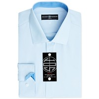 Society of Threads Mens Slim-Fit Non-Iron Dress Shirt Deals