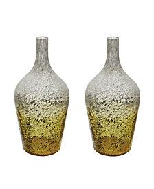 Lemon Ombre Bottles - Set of 2