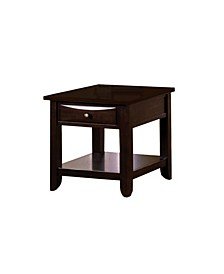 Bonner Espresso End Table