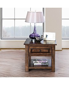 Nyah End Table, Quick Ship