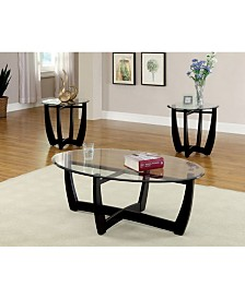 Jane 3pc Table Set, Quick Ship