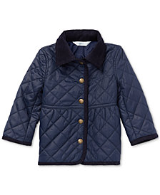 Polo Ralph Lauren Baby Girls Quilted Barn Jacket