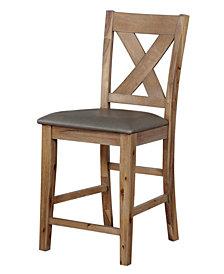 Roxy Pub Chair (Set Of 2), Quick Ship