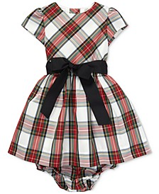 Baby Girls Plaid Dress