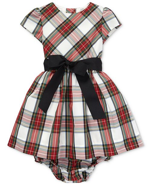 ee35c32a7 Polo Ralph Lauren Baby Girls Plaid Dress & Reviews - Dresses - Kids ...
