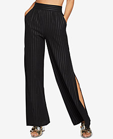 BCBGeneration Side-Split Palazzo Pants