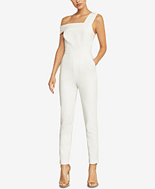 BCBGMAXAZRIA Haida One-Shoulder Jumpsuit