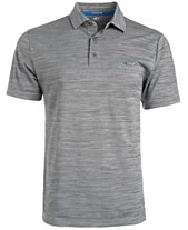 3115347b4 Attack Life by Greg Norman Men s 5 Iron Space-Dye Performance Golf Polo