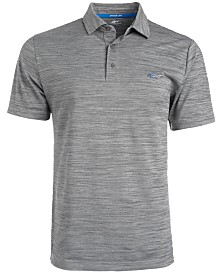 Attack Life by Greg Norman Men's 5 Iron Space-Dye Performance Golf Polo, Created for Macy