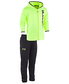Under Armour Little Boys 2-Pc. Cross Check Hoodie & Jogger Pants Set