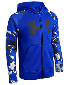 Under Armour Little Boys Zip-Up Logo Hoodie