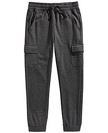 Epic Threads Big Boys Cargo Fleece Joggers, Created for Macy's